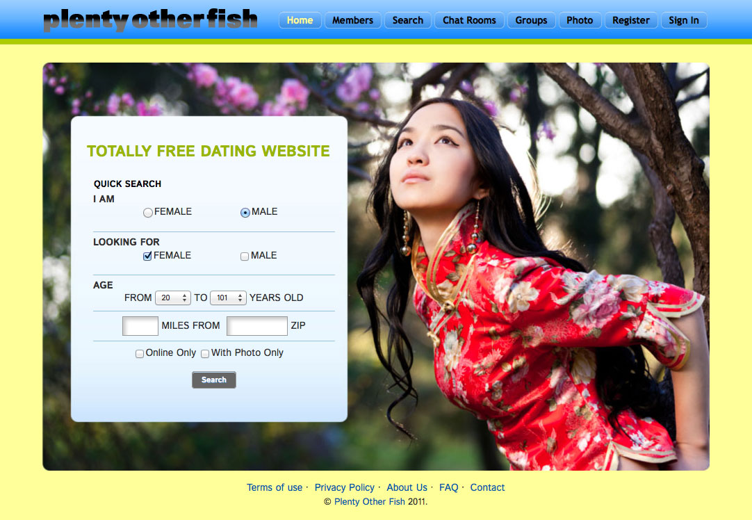 Plenty more fish free online dating